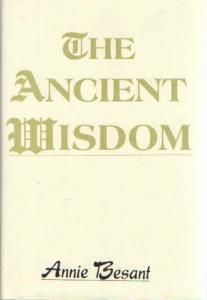 Ancient Wisdom Annie Besant Cover